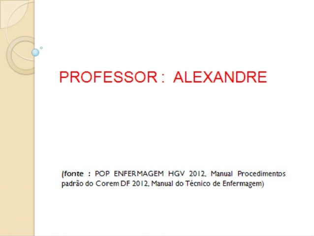 Professor : AlexandreProfessor : Alexandre AEROSSOLTERAPIA