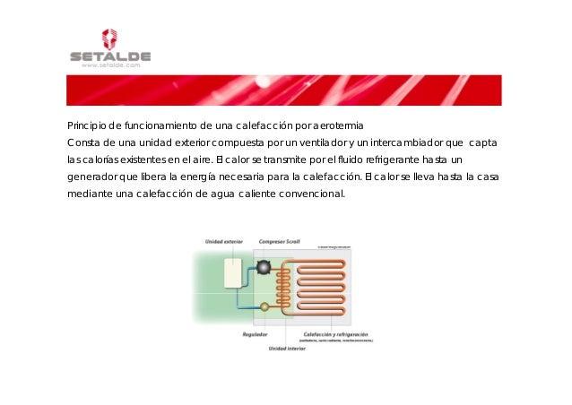 Aerotermia for Calefaccion por aerotermia