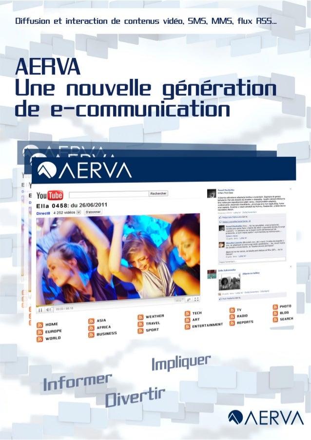 Aerva DOOH Brochure