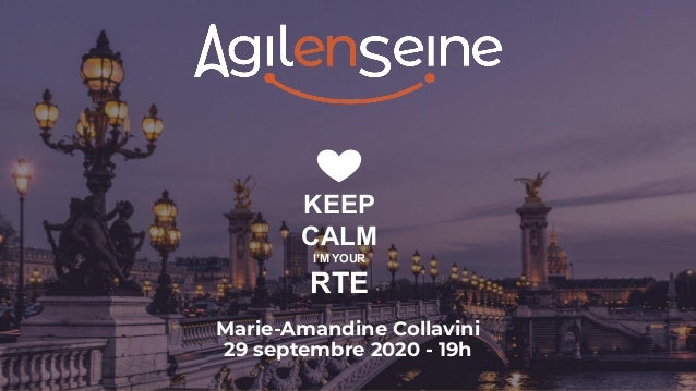 KEEP CALM I'M YOUR RTE Marie-Amandine Collavini 29 septembre 2020 - 19h