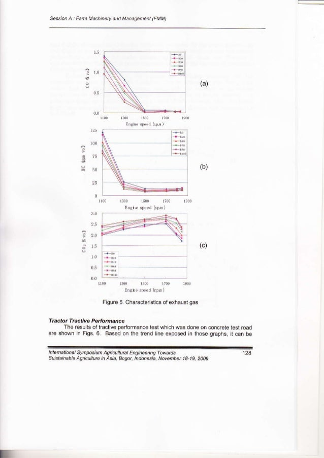 EVALUATION OF DIESEL ENGINE AND FARM TRACTOR PERFORMANCE