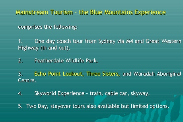 The Blue Mountains & Jenolan Caves Geotourism Revival AESC 2016 27t…
