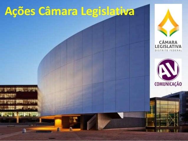 Ações Câmara Legislativa