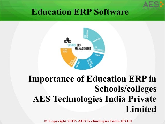 Education ERP software– AES technologies private limited ...