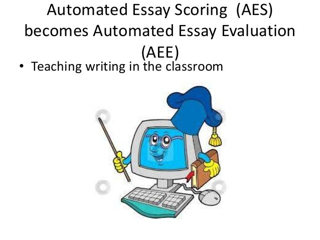 automated essay scoring a cross-disciplinary perspective Automated essay scoring system is a revolutionary innovation network system, in recent years, it makes the reform of english essay teaching mode more feasible basing on the network automated essay scoring system, this paper first introduces the development of this kind of system and then tries to optimize the design of classroom teaching of.