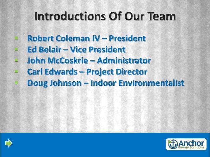 AES System Presentation Slide 2
