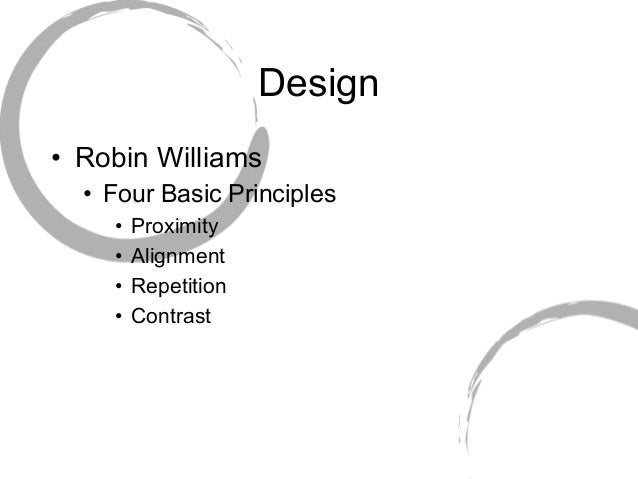Aesthetics and Design