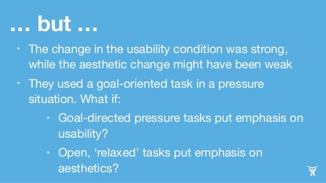 Influence Of Product Design On Perception Of Usability