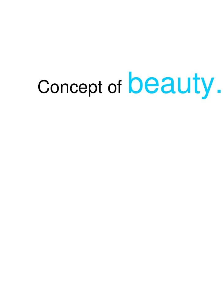 Concept of   beauty..