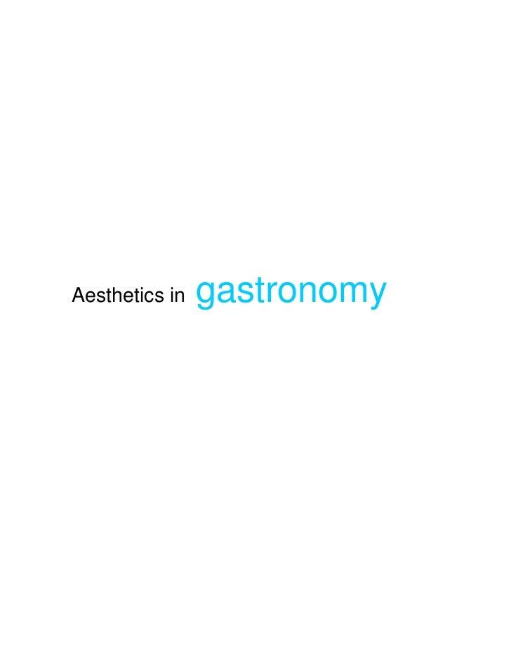 Aesthetics ppt
