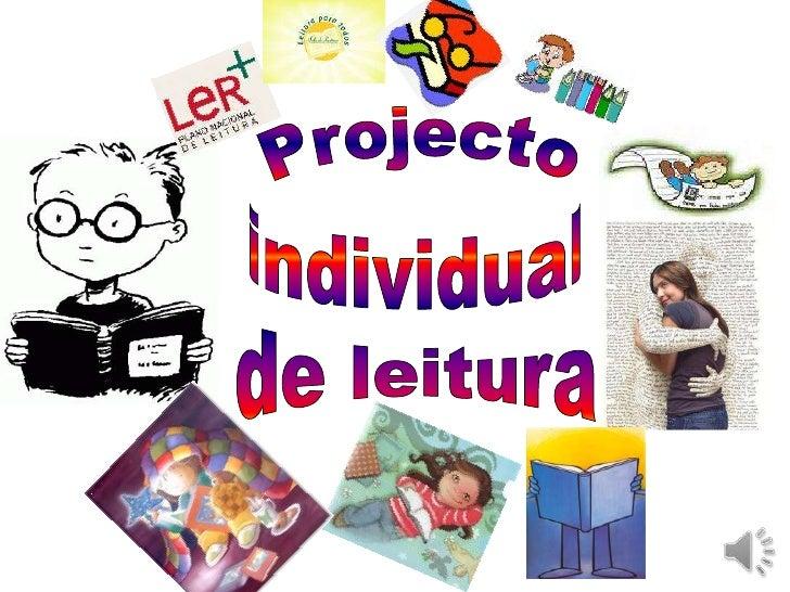 Projecto<br />individual<br />de leitura<br />