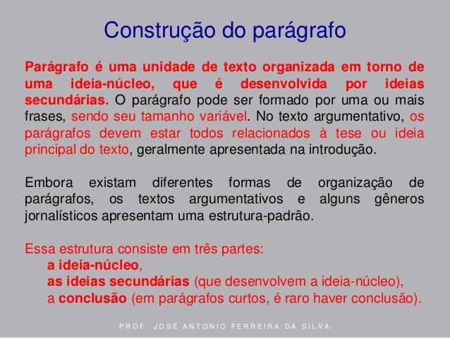 Dissertação estrutura do texto