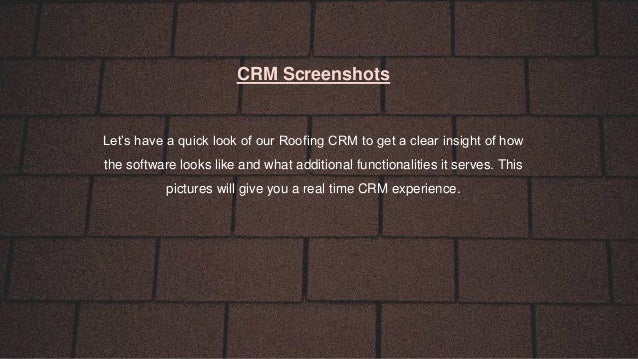 Crm Roofing Amp Roofing