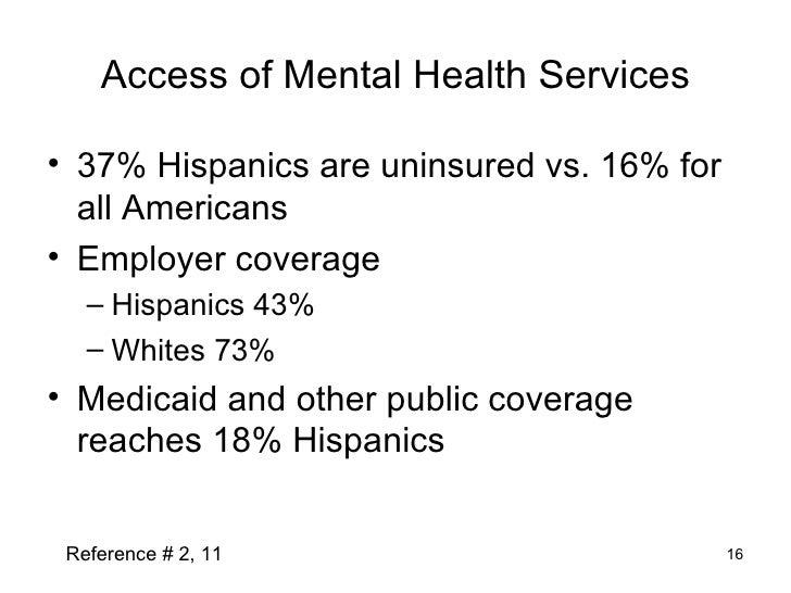 Aetna Presentations Latinos And Mental Disorders