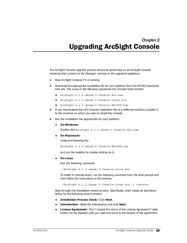 arcsight installation and configuration guide