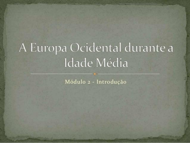 Módulo 2 - Introdução