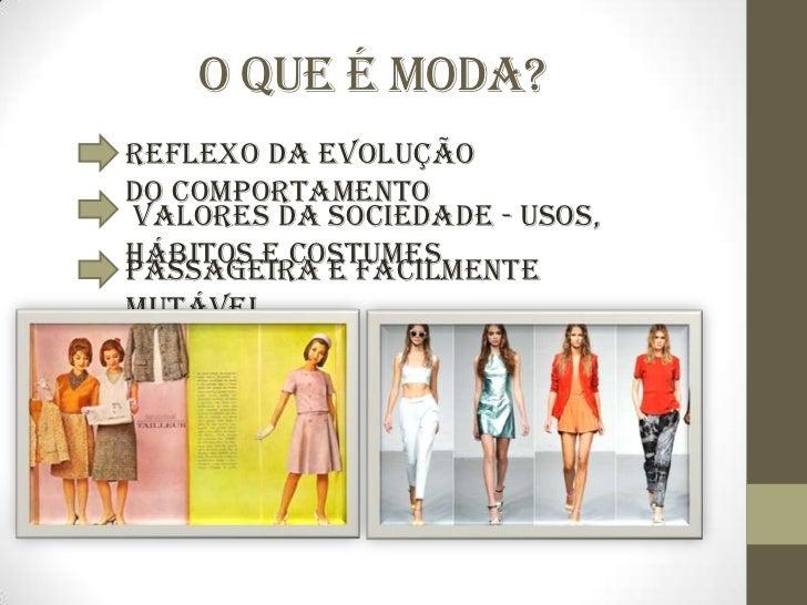 A evolução da moda Slide 2