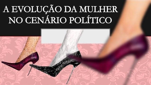 O presente estudo se cercou de uma metodologia que visa mostrar o crescimento da participação política da mulher numa soci...