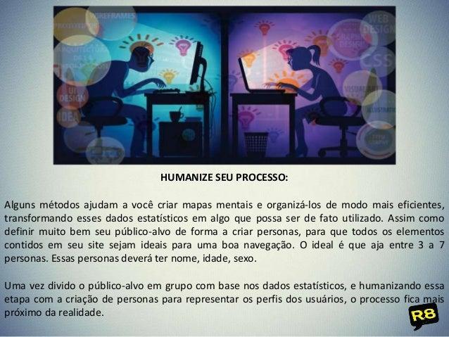 HUMANIZE SEU PROCESSO: Alguns métodos ajudam a você criar mapas mentais e organizá-los de modo mais eficientes, transforma...