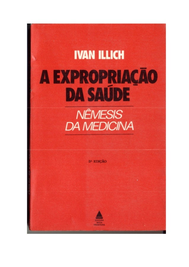 A expropriação da saude_Ivan Illich