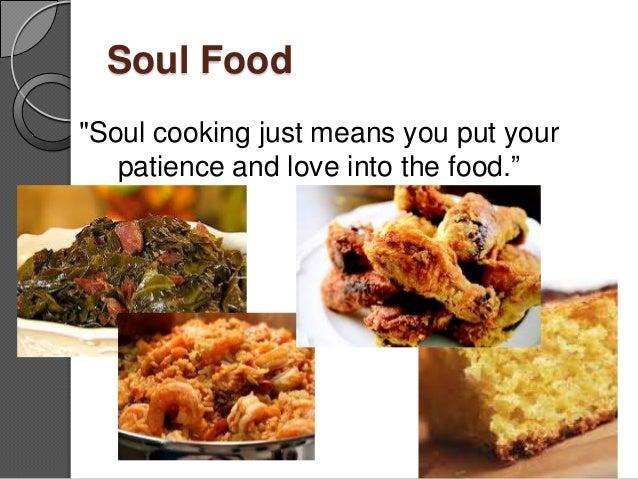 African american culture presentaion for American culture cuisine