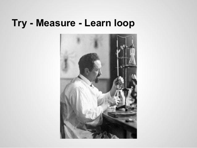 Try - Measure - Learn loop