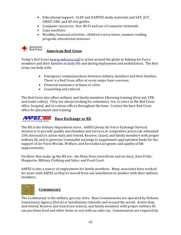 AF101: Back to Basics Guide for AF Spouses