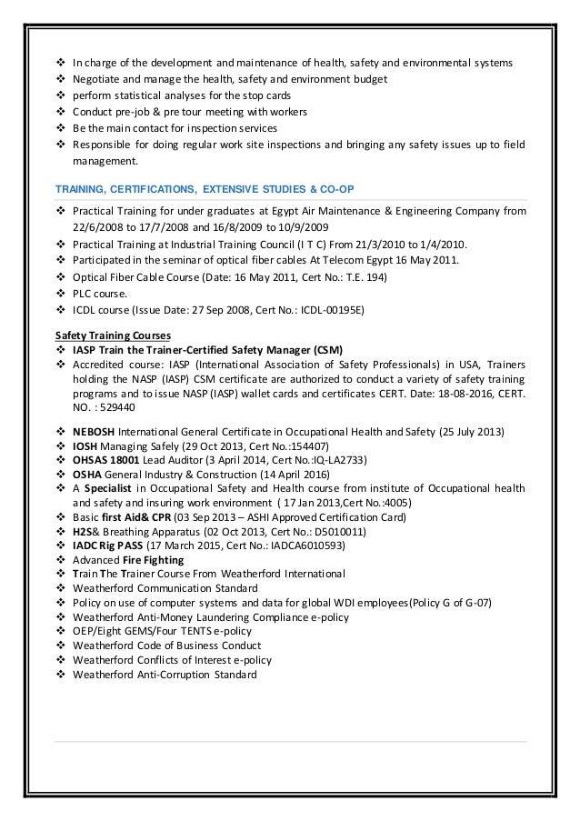 last updated resume jan 2017