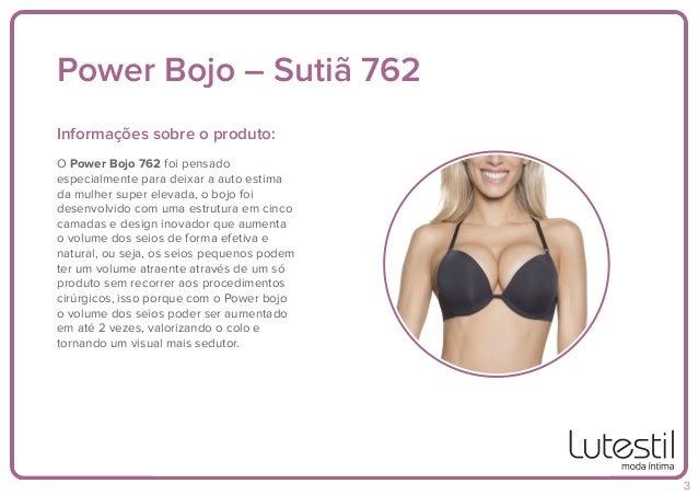 Power Bojo – Sutiã 762 Informações sobre o produto: Dica: São 4 cores: Produzido em poliamida microfibra, material de mais...