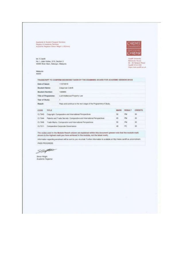 LLM 1st Stage Results+MBA Offer