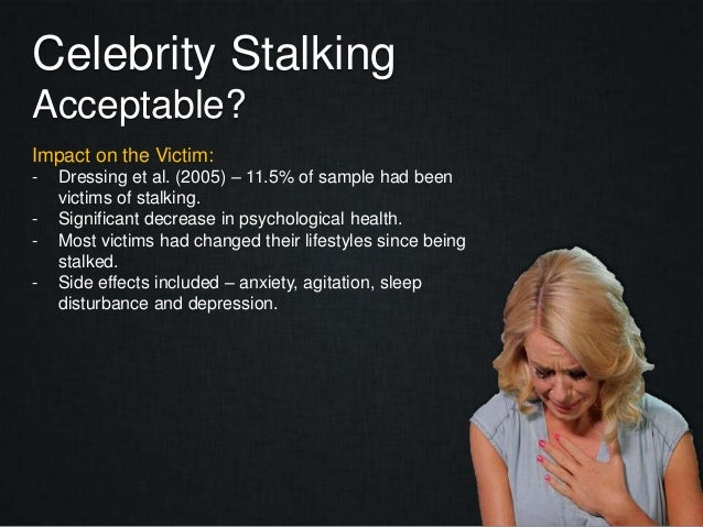 In the Mind of a Stalker | Psychology Today