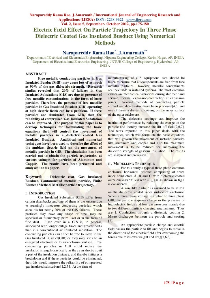 Narapareddy Rama Rao, J.Amarnath / International Journal of Engineering Research and                  Applications (IJERA)...