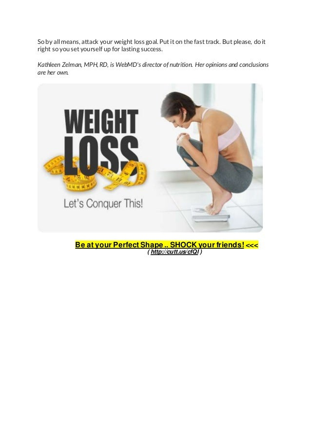 how to lose weight in a week for women