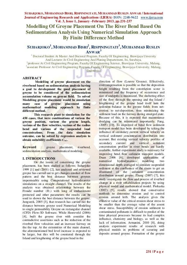 SUHARJOKO, MOHAMMAD BISRI, RISPININGTATI, MUHAMMAD RUSLIN ANWAR / International Journal of Engineering Research and Applic...