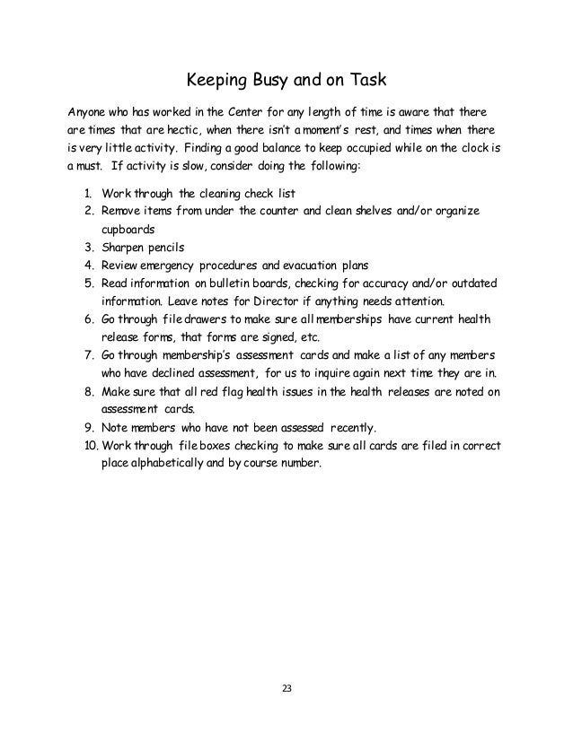 staff manual in sequence