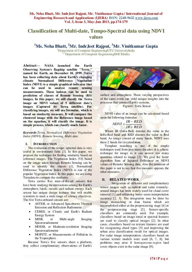 Ms. Neha Bhatt, Mr. IndrJeet Rajput, Mr. Vinitkumar Gupta / International Journal ofEngineering Research and Applications ...