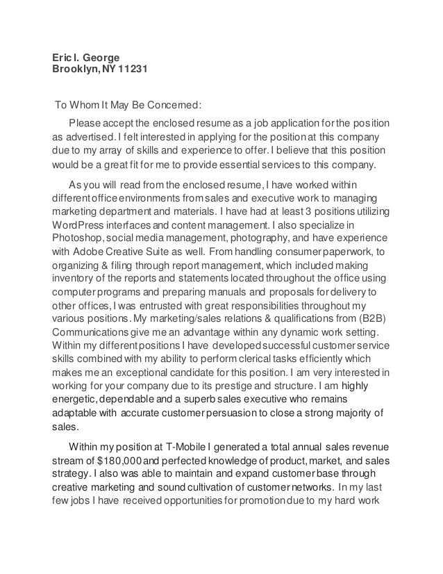 How To Use Ad Hoc In A Cover Letter
