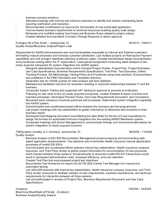 what to put on a resume l lazenby qa resume 1042