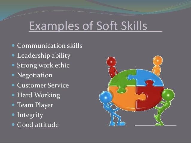 attitude and soft skills