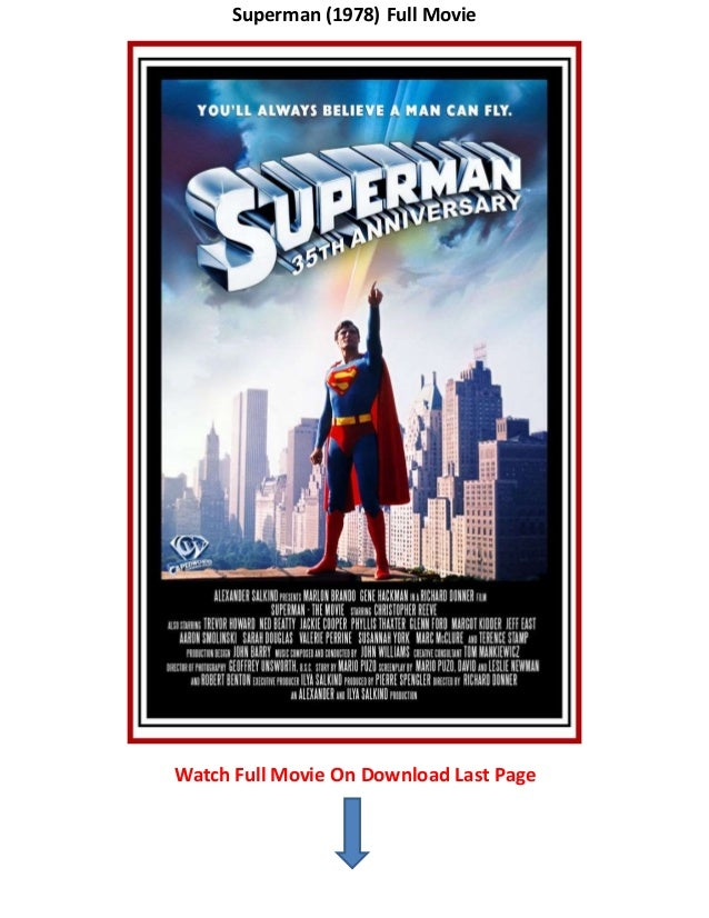 Superman  Full Movie Watch Full Movie On Download Last Page