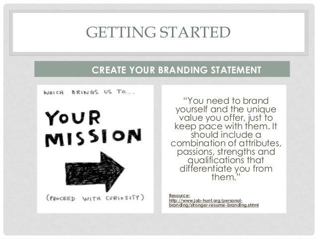 brandingstronger resume brandingshtml 13 - Resume Branding Statement  Examples