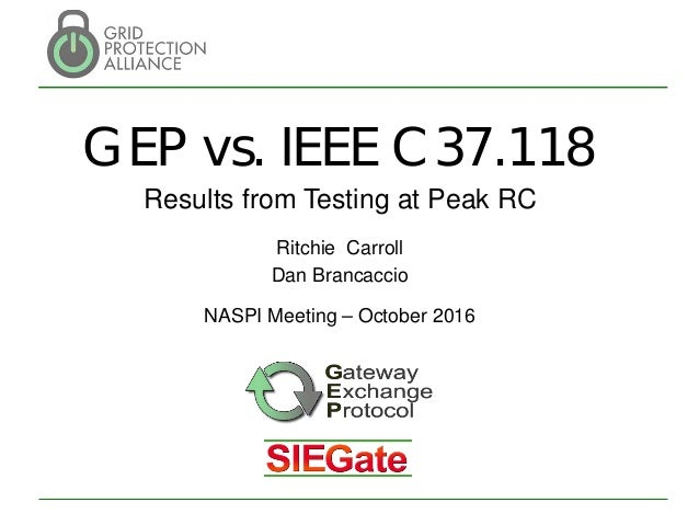 dnmtt - synchrophasor data delivery efficiency gep testing results at…, Presentation templates