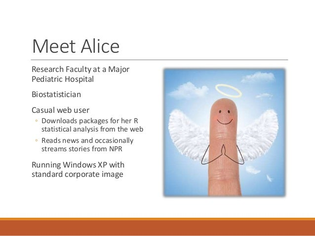 When Mallory Met Alice - A Fable Slide 2
