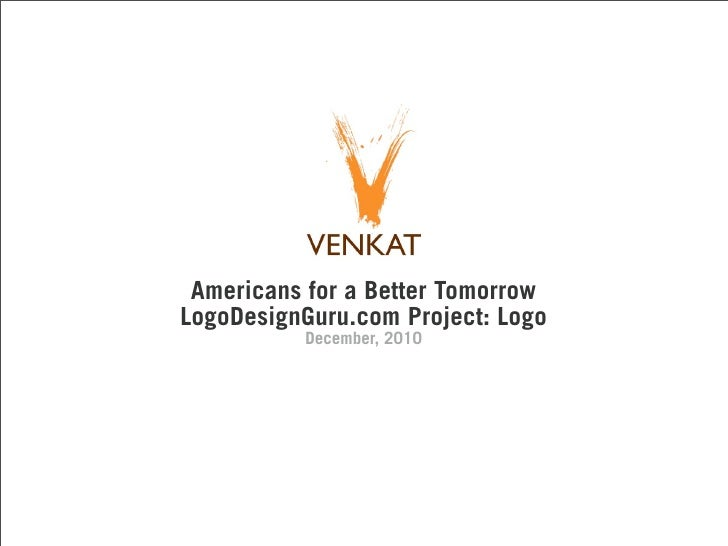 Americans for a Better TomorrowLogoDesignGuru.com Project: Logo          December, 2010