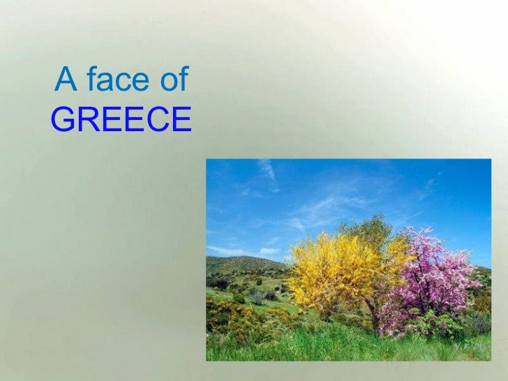 A face ofGREECE