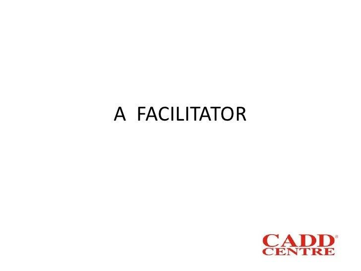 A  Facilitator<br />