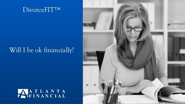 Will I be ok financially? DivorceFIT™