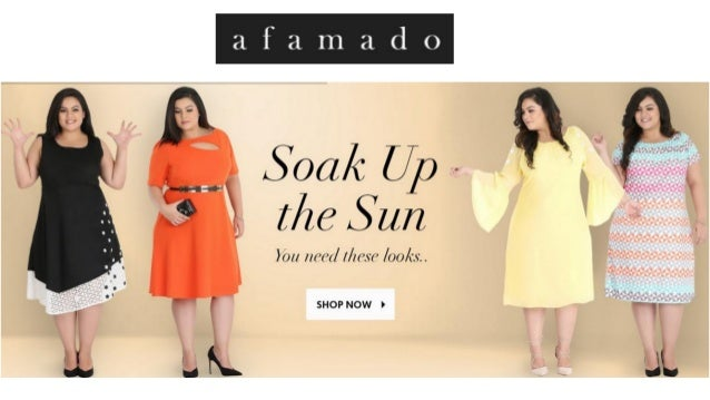 Afamado Curvy Offers A Selection Of Plus Size Dresses Online