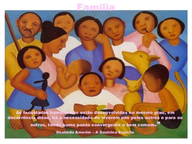 Familia As faculdades humana não estão desenvolvidas no mesmo grau, em decorrência disso, há a necessidade de viverem uns ...