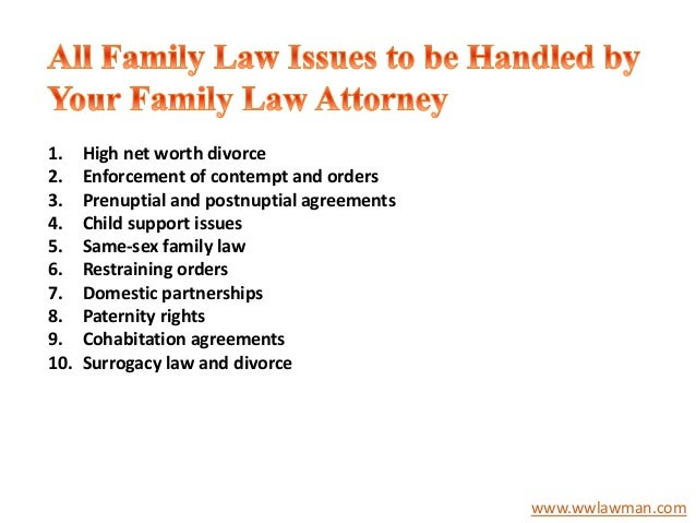 family law contemporary issues There are myriad challenges facing kenyan families today that include:   mortality and obsolete traditional marriage and family laws  strong families  exist and respond positively and effectively to contemporary challenges.